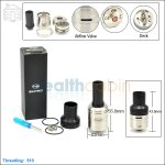 New ! Ehpro Samurai Stainless Steel Rebuildable Dripping Atomizer (Clone)