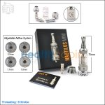 Aspire Nautilus Mini BVC Glass Clearomizers (Adjustable Airflow Tank System)