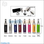 KangerTech EVOD 2 BDC Clearomizer V2 With Upgraded Bottom Dual Coils