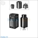 [New product forecasting] Tobeco Kennedy V2 Black Rebuildable Dripping Atomizer (Clone)