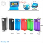 New ! Tobeco Colorful Beast ABS Box Mod with LED Light (Clone)