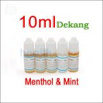 10ml Dekang Menthol & Mint E-juice in 6 flavors