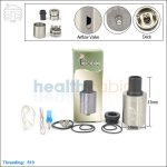 Tobeco Cloud Vape Stainless Steel Rebuildable Dripping Atomizer (Clone)