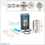 Tobeco Airek Stainless Steel Rebuildable Dripping Atomizer (Clone)