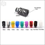 Acrylic Shorty Wide Bore 510 Drip Tip