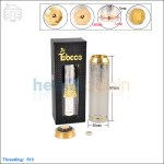 New ! Tobeco Chi You Megan 26650 Stainless Steel Mod (Clone)