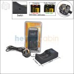 New ! TrustFire TR-006 2 Channel Charger (UK Plug) for 26650/18650 Li-ion Battery