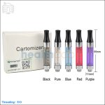 New ! (Non-replaceable) 5pc KangerTech New E-smart 510 1.2ml BCC Clearomizer