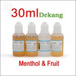 30ml Dekang Menthol & Fruity E-juice (13 flavors)