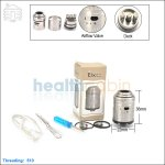 Tobeco Mephisto V2 Stainless Steel Rebuildable Dripping Atomizer (Clone)