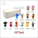 Chinese Zodiac Art Glass 510 Drip Tip Variety Pack (12*1pc)