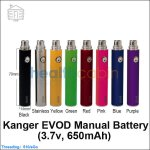 Kanger EVOD Manual Battery (3.7v,650mAh)