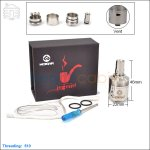 Hcigar Legend Stainless Steel Rebuildable Dripping Atomizer (Clone)
