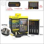 New ! Nitecore Digicharger D4 (UK Plug)