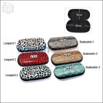 Zipped eGo Carrying Case in Leopard and Snakeskin Pattern (Large Size)