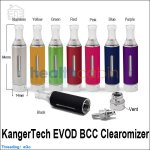 Kanger EVOD Bottom Coil Changeable Clearomizer