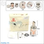 Hcigar Legion Stainless Steel Rebuildable Dripping Atomizer (Clone)