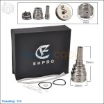 New ! Ehpro Tyr SS 26650 Rebuildable Dripping Atomizer