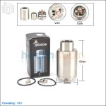 New ! Tobeco Kennedy V2 Stainless Steel Rebuildable Dripping Atomizer (Clone)