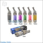 Compact Innokin iClear 30 Clearomizer with replaceable coil in 7 Colors