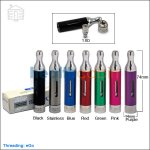 Smoktech T-Dux 2.0 Glass Clearomizer(New Bottom Changeable Ceramic Coil)