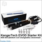 Kanger EVOD Starter Kit with BBC(Bottom Coil Changeable) Clearomizer