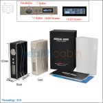 New ! Sigelei 100W Plus Box Mod