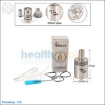 New ! Tobeco Mutation X Stainless Steel Rebuildable Dripping Atomizer (Clone)