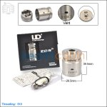 New ! Youde IGO-W15 26650 Rebuildable Dripping Atomizer