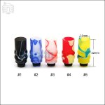 New ! Colorful Acrylic Wide Bore 510 Drip Tip