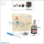Hcigar Epic Black Stainless Steel Rebuildable Dripping Atomizer