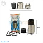 New ! Tobeco Mini Velocity Stainless Rebuildable Dripping Atomizer (Clone)