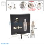 Ehpro Authentic Billow Stainless Steel RTA (Rebuildable Tank Atomizer)