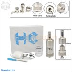 New ! Hcigar HC Plus Stainless Steel Rebuildable Atomizer