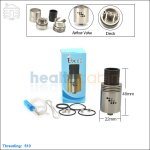 Tobeco Mutation X V2 Stainless Steel Rebuildable Dripping Atomizer (Clone)