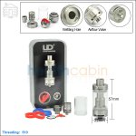 New ! UD Youde Zephyrus Rebuildable Tank Atomizer