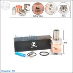 Ehpro Vertex V2 Stainless Steel Rebuildable Dripping Atomizer (Clone)