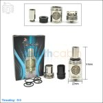 New ! Tobeco 9 Hells & 13 Heavens Stainless Steel Rebuildable Dripping Atomizer (Clone)