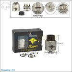 Tobeco Original Zorro Stainless Steel Rebuildable Dripping Atomizer