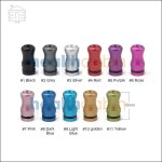 510/901 Aluminum Shorty Drip Tip
