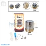 Tobeco Geyser Stainless Steel Rebuildable Dripping Atomizer (Clone)