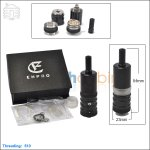 Ehpro Flash V2 Black Rebuilable Atomizer (Clone)