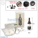 iSmoka Eleaf Lemo Drop Black Atomizer