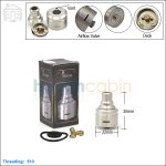 New ! Tobeco Cartel Cascata Stainless Steel Rebuildable Dripping Atomizer (Clone)