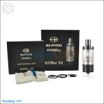 New ! Ehpro Original Billow V2 Black Rebuildable Tank Atomizer