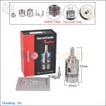 KangerTech Aerotank Turbo Glass Clearomizer With Quad Coils