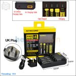 New ! Nitecore Intellicharge i4 (UK Plug)