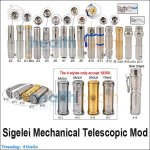 Sigelei Mechanical Telescopic Mod (Recommendation for Veteran)