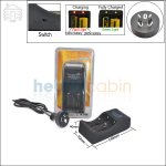 New ! TrustFire TR-006 2 Channel Charger (AU Plug) for 26650/18650 Li-ion Battery