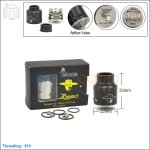 Tobeco Original Zorro Black Rebuildable Dripping Atomizer